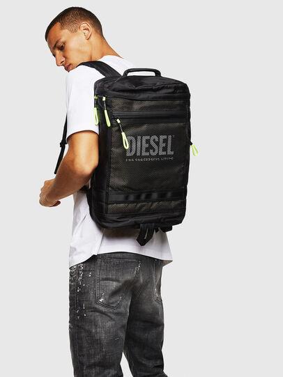 Diesel - MALU, Black/Blue - Backpacks - Image 6