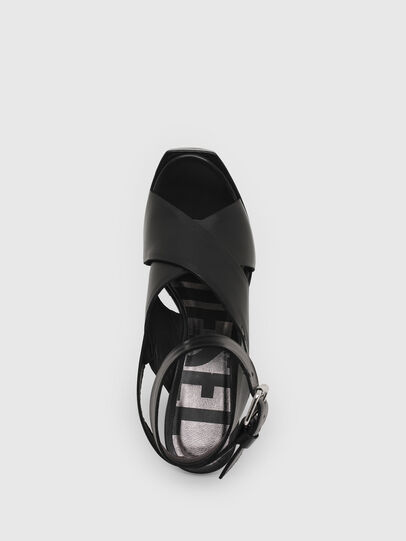 Diesel - SA-JULIA, Black - Sandals - Image 4