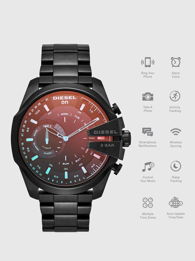Diesel - DT1011, Black - Smartwatches - Image 1