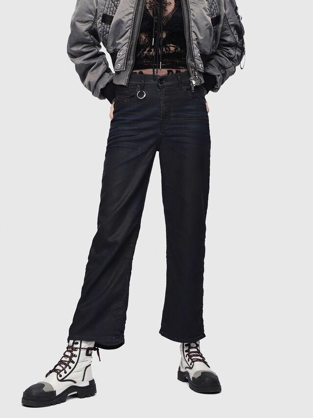 Diesel - Widee JoggJeans 0688U, Dark Blue - Jeans - Image 1