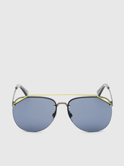 Diesel - DL0314, Grey/Blue - Sunglasses - Image 1