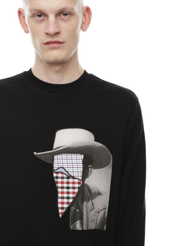 Diesel - SNEILB-PEZZABOY, Black - Sweaters - Image 4
