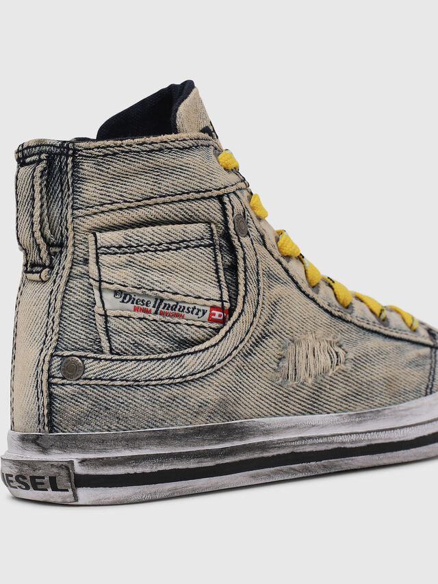Diesel - SN MID 20 EXPOSURE Y, Grey Jeans - Footwear - Image 5