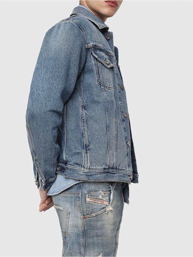 Diesel - Krooley JoggJeans 087AE, Light Blue - Jeans - Image 3