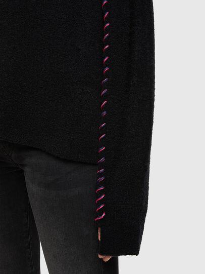 Diesel - M-MYRA, Black - Knitwear - Image 5