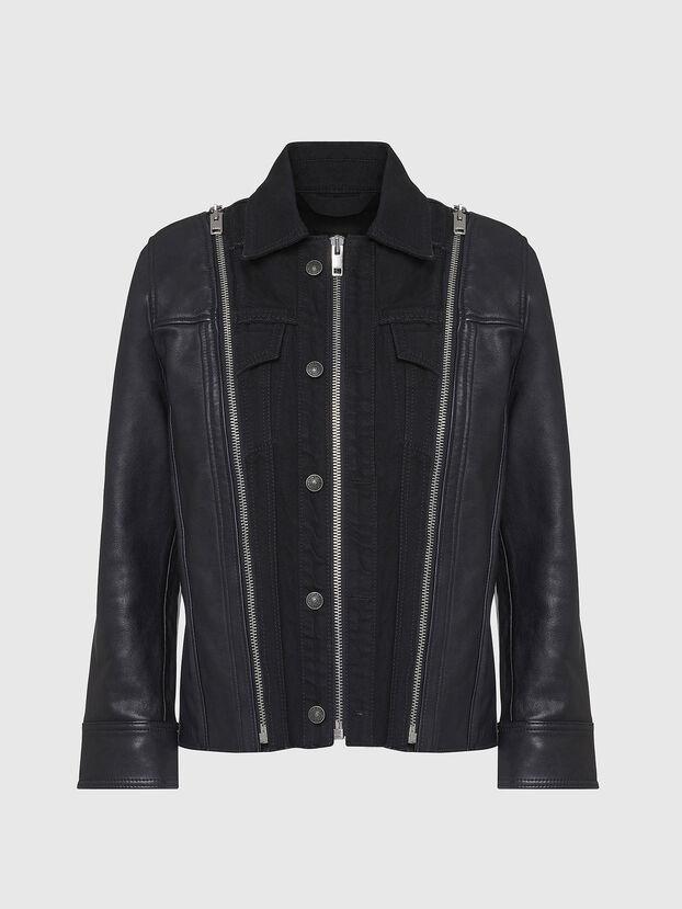 L-LAZAY, Black - Leather jackets
