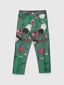 PGITTE, Green/Blue - Pants