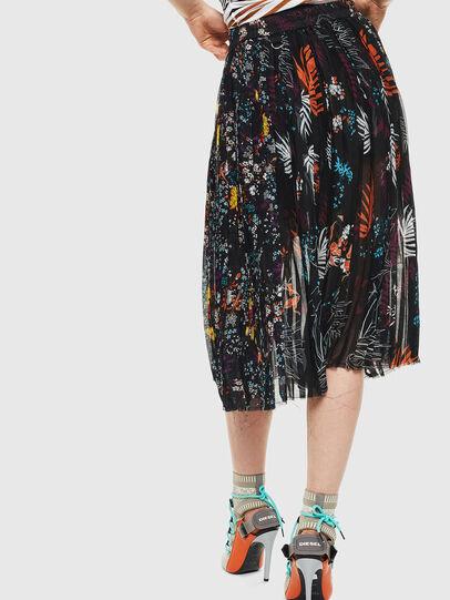 Diesel - O-PLIZ,  - Skirts - Image 2