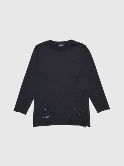Diesel - TFIENA, Black - T-shirts and Tops - Image 1