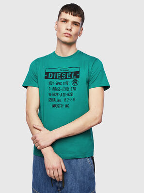 T-DIEGO-S1, Green - T-Shirts