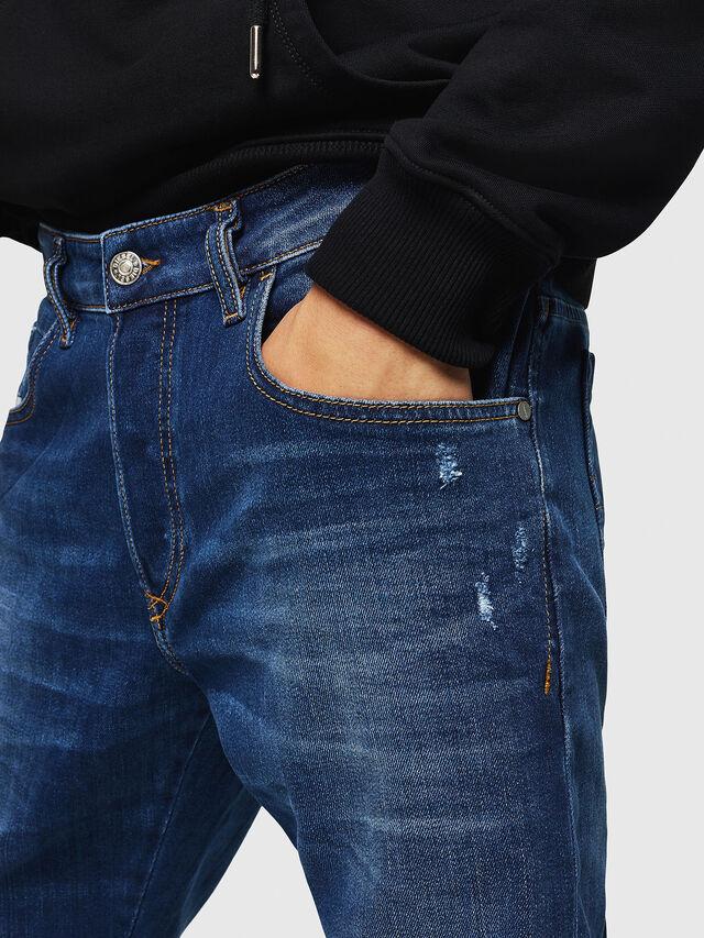 Diesel - D-Bazer 083AZ, Medium blue - Jeans - Image 3
