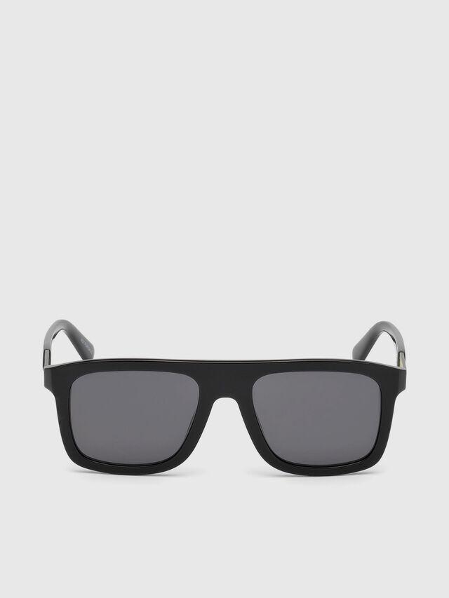 Diesel DL0268, Black - Eyewear - Image 1
