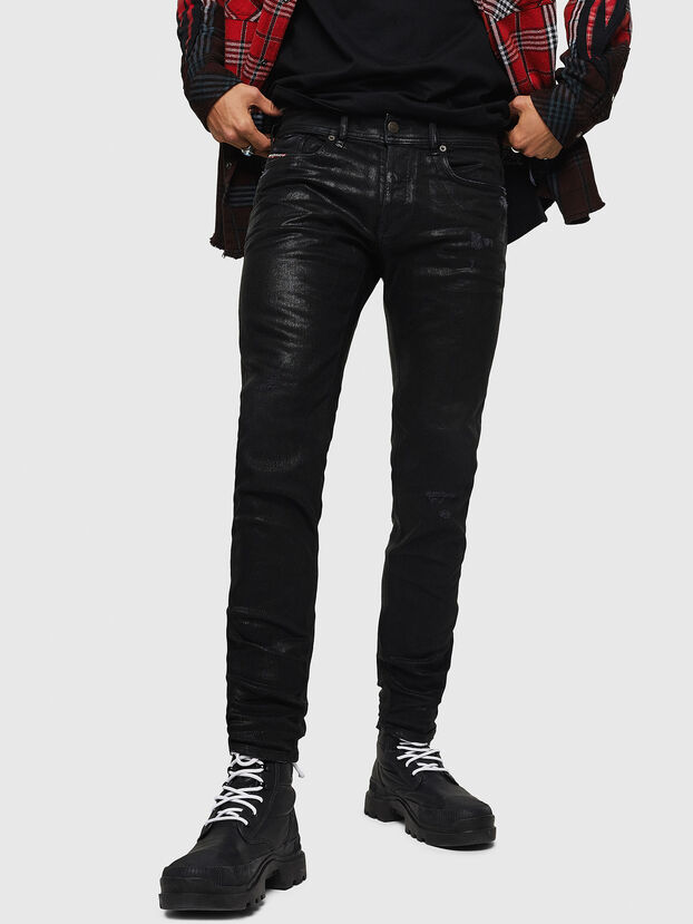 Sleenker 0091F, Black/Dark grey - Jeans