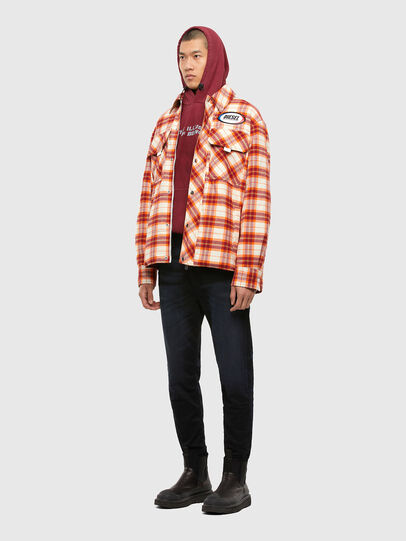 Diesel - J-TANIFER, Red/White - Jackets - Image 6