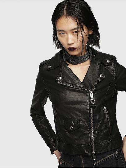 Diesel - L-SERY,  - Leather jackets - Image 1