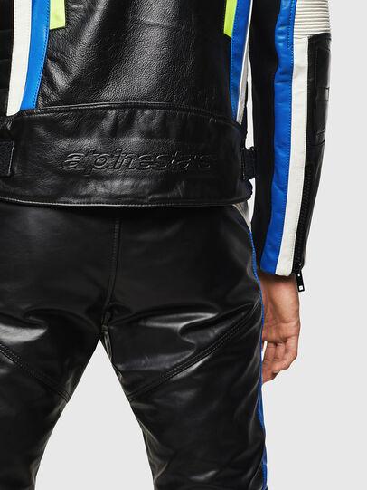Diesel - ASTARS-LDUE, Black - Leather jackets - Image 5