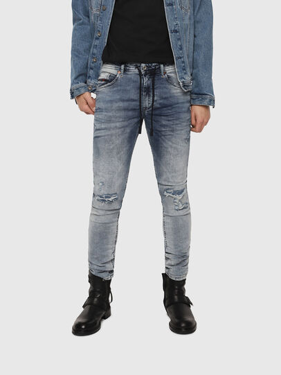Diesel - Thommer JoggJeans 069FC, Medium blue - Jeans - Image 1