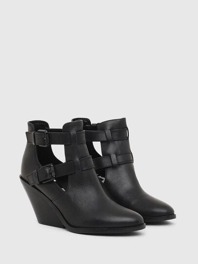 Diesel - D-FLAMINGO OB, Black - Ankle Boots - Image 2