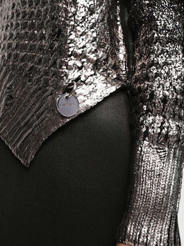 Diesel - M-CLOK, Black/Silver - Knitwear - Image 3