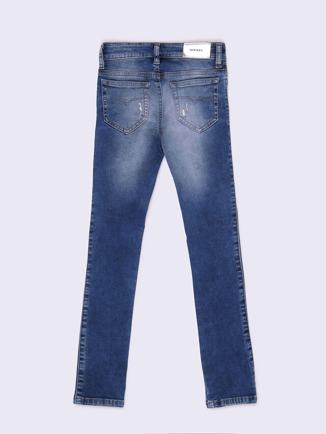 SKINZEE-LOW-J-N, Blue jeans