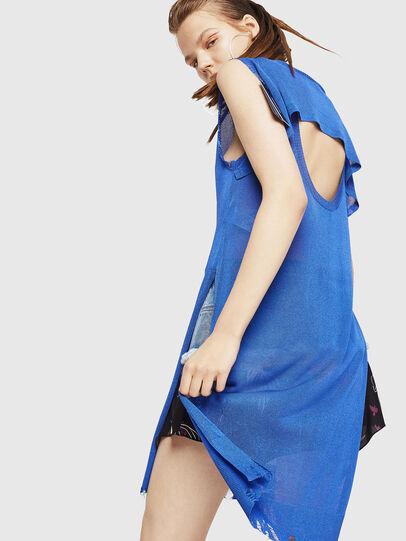 Diesel - M-LONG, Light Blue - Knitwear - Image 2