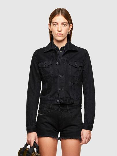 Diesel - DE-LIMMY, Black - Denim Jackets - Image 1
