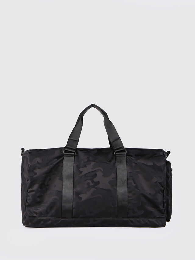 Diesel F-DISCOVER DUFFLE, Black - Travel Bags - Image 2