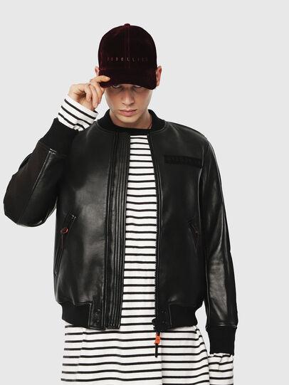 Diesel - L-YUTAKIS,  - Leather jackets - Image 1