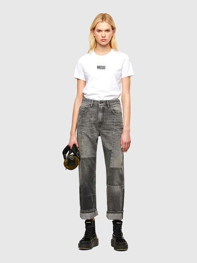 Diesel - T-SILY-SMALLOGO, White - T-Shirts - Image 4