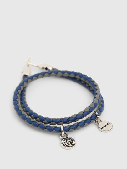 Diesel - ALUCY BRACELET 2, Grey/Blue - Bijoux and Gadgets - Image 2