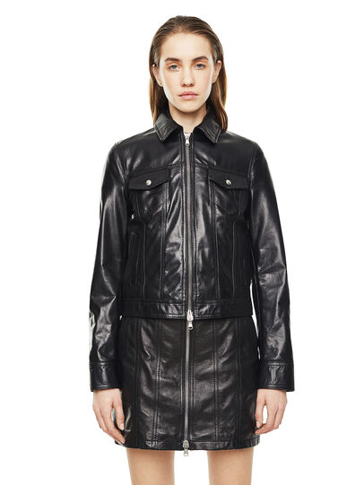 Diesel - LUCYLLE,  - Leather jackets - Image 1