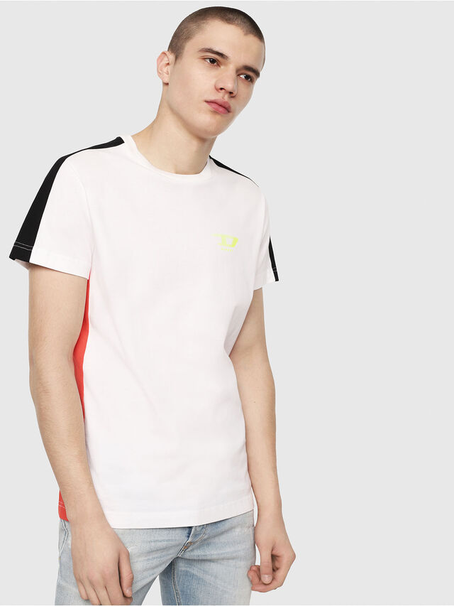 Diesel - T-HARUS, White - T-Shirts - Image 1