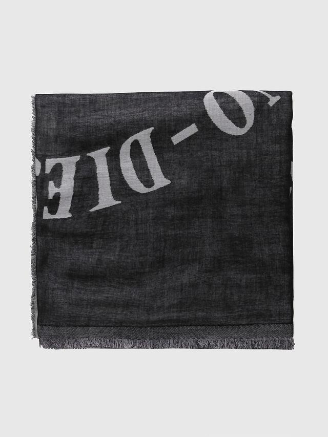 Diesel - SMOIKA, Opaque Black - Scarf - Image 2