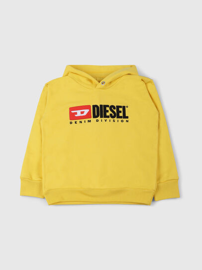 Diesel - SDIVISION OVER, Yellow - Sweaters - Image 1