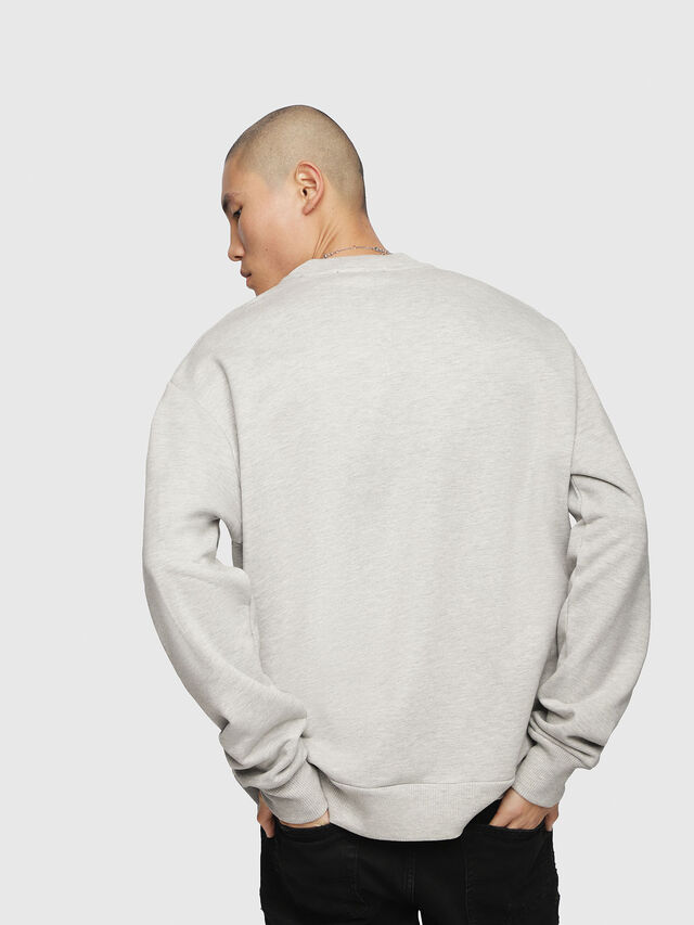 Diesel - S-LINK, Light Grey - Sweaters - Image 2