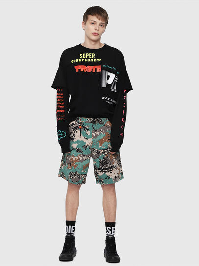Diesel - P-FRANK-SHO-CAMOU,  - Shorts - Image 5