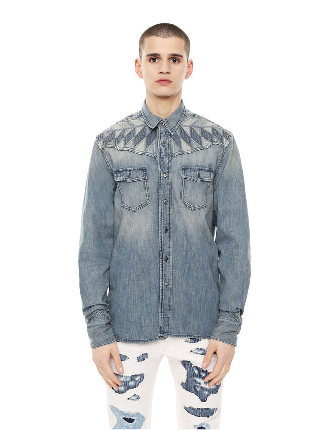 Diesel - SULLYVAN, Blue Jeans - Shirts - Image 1