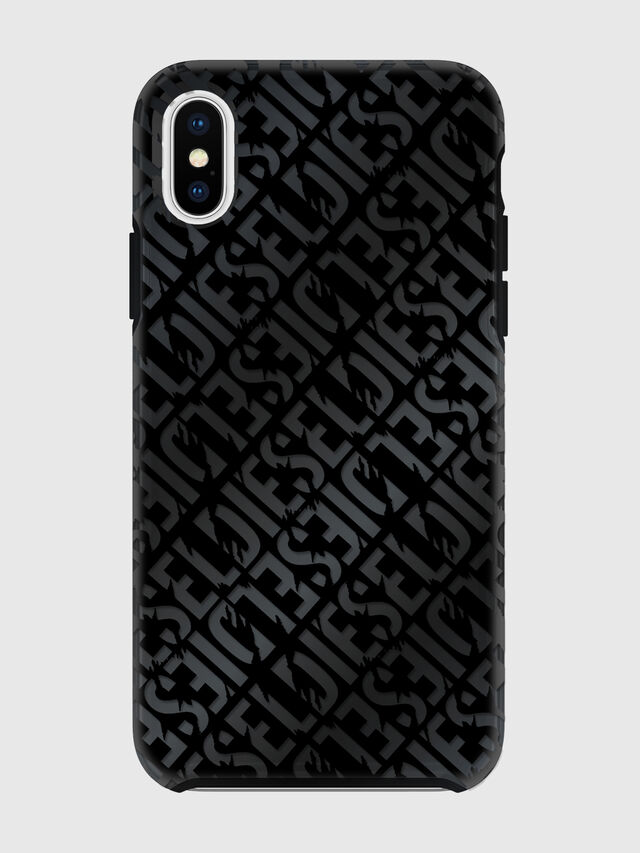 Diesel - DIESEL PRINTED CO-MOLD CASE FOR IPHONE XS & IPHONE X, Black - Cases - Image 2