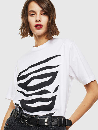Diesel - T-JUST-J9, White - T-Shirts - Image 5