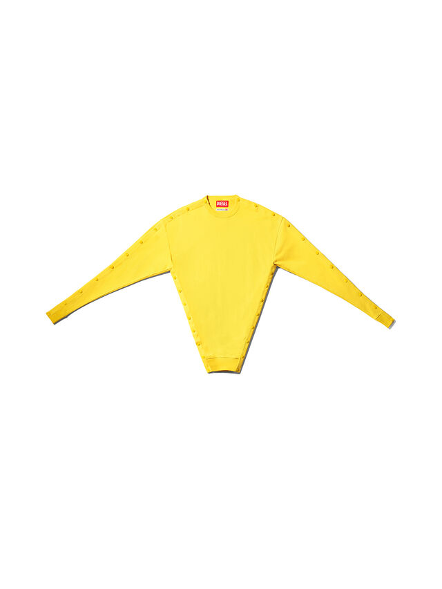 Diesel - GMSW01, Yellow - Sweater - Image 1