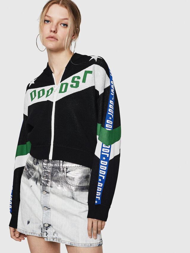 Diesel - M-WAINE, Black - Knitwear - Image 1