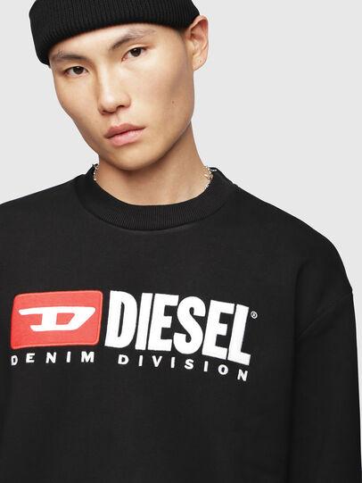 Diesel - S-CREW-DIVISION, Black - Sweaters - Image 3