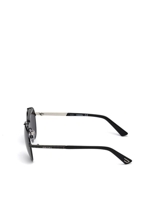 Diesel DL0238, Black - Eyewear - Image 3