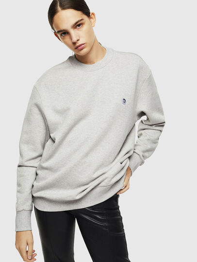 Diesel - S-LINK, Light Grey - Sweaters - Image 2