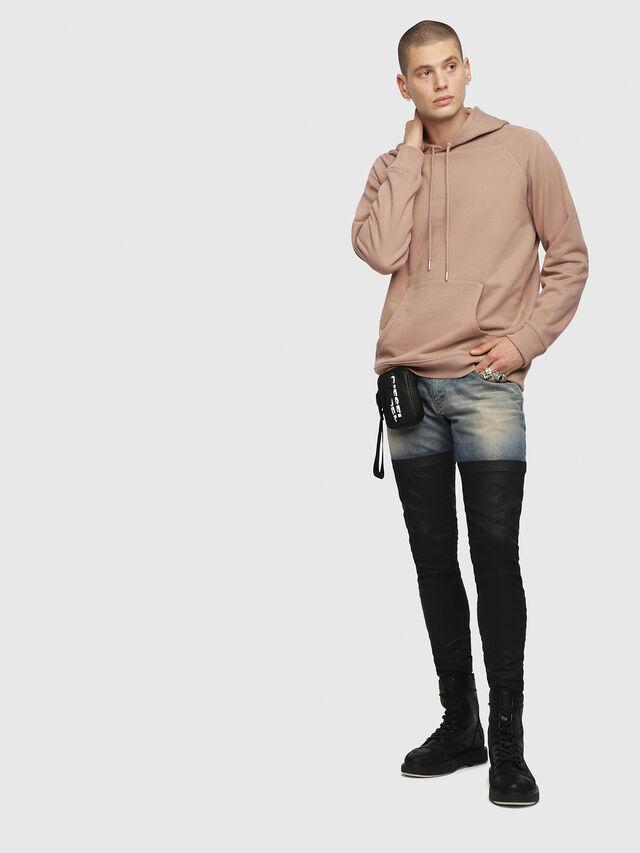 Diesel - S-GIM-HOOD-A, Face Powder - Sweaters - Image 4