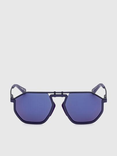 Diesel - DL0346, Blue - Sunglasses - Image 1