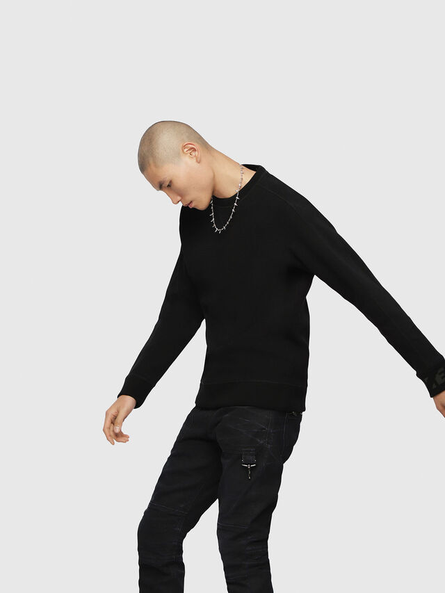 Diesel - S-TINA-J, Black - Sweaters - Image 3
