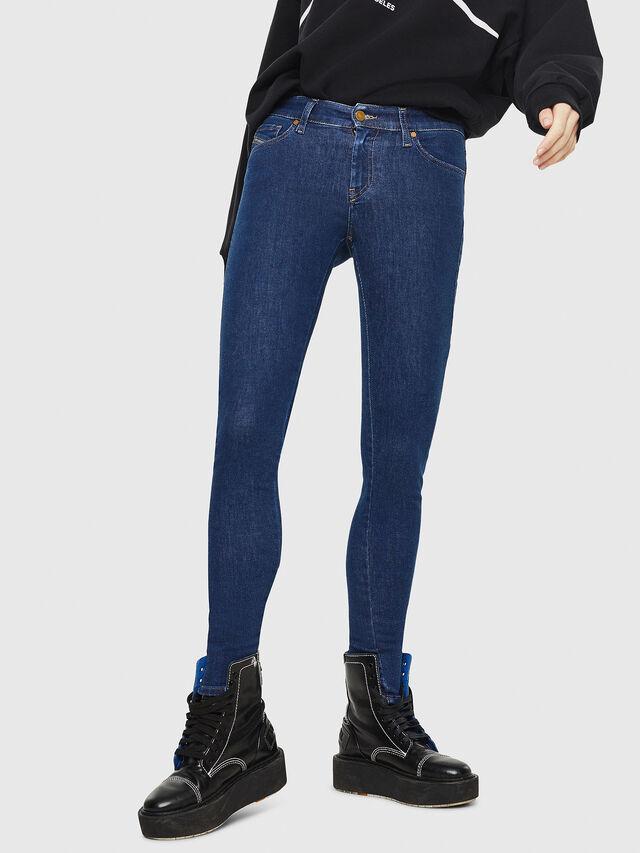 Diesel - Slandy 082AA, Dark Blue - Jeans - Image 1
