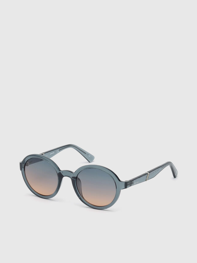 Diesel - DL0264, Blue - Sunglasses - Image 2