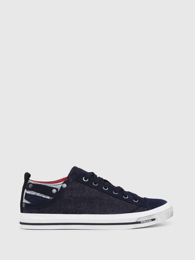 Diesel - EXPOSURE IV LOW  W, Dark Blue - Sneakers - Image 1